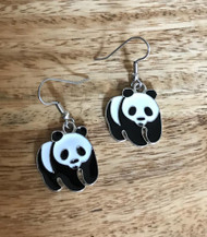 Resell for 9.00 or more Pewter enamel panda