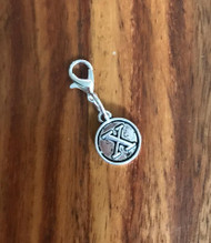 Resell for 6.00 or more Lobster clasp bauble  Aprox 12 mm  Pewter charm letter X Style #LXB021418g