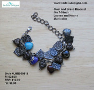 Leaves & Hearts Bracelet