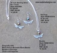 Dragonfly - Earrings
