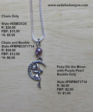 Fairy on the Moon Earrings