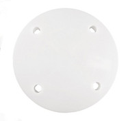 White, Single-Plate Separator Plates For Use with Locking Pillars--Choose From Variety of Sizes