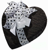 1# BLACK FABRIC BOX W/BOW