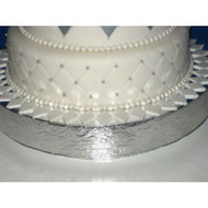 """""""Floral Leaf"""" Cake Stand/Display Base--Choose From 14"""", 16"""", 18"""", 20"""" or 22"""""""