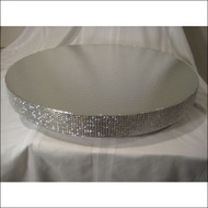 """""""Dazzling Diamonds"""" Faux-Diamond Cake Stand/Display Base--Choose From 16"""", 18"""", 20"""" or 22"""""""