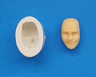 Face Mold #2--Silicone