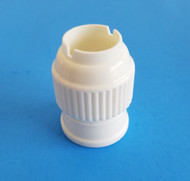 LARGE PLASTIC COUPLER--Fits Large Pastry Tips & Fits Russian Tips