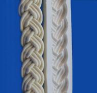 Braid Border Mold -  Silicone
