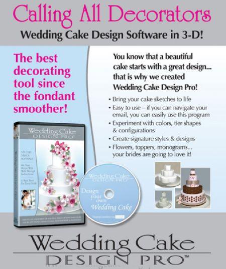 Wedding Cake Design Pro Software - Cake Decorating ...