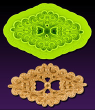 Enchanting Brooch Mold--Marvelous Molds Silicone Mold