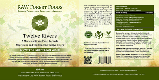 Twelve Rivers Label