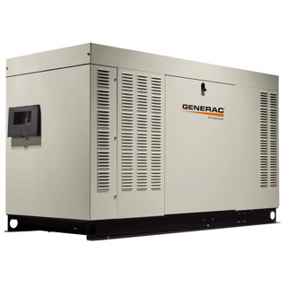 Generac RG02515ANSX 25kW (NG) Liquid-Cooled Standby Generator 1 PH Steel Enclosed