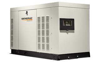 Generac RG03624ANSX 36kW (NG) Liquid-Cooled Standby Generator 1 PH Steel Enclosed