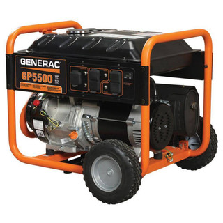 Generac 5939, 5500 Running Watts/6875 Starting Watts, Gas Portable Generator