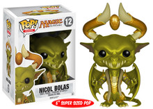 FUNKO POP! GAMES MAGIC THE GATHERING: NICOL BOLAS 6 INCH VINYL FIGURE - CLEARANCE
