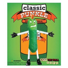 OFF THE WALL TOYS CLASSIC PUNKLE BENDABLE ACTION FIGURE - CLEARANCE