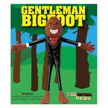 OFF THE WALL TOYS GENTLEMAN BIGFOOT BENDABLE ACTION FIGURE - CLEARANCE