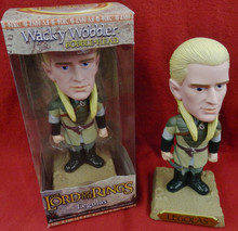 FUNKO LORD OF THE RINGS LEGOLAS GOLD BASE CHASE VARIANT WACKY WOBBLER BOBBLEHEAD