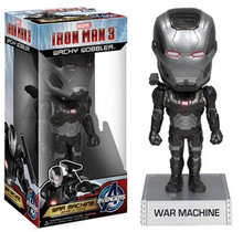 FUNKO IRON MAN 3: WAR MACHINE WACKY WOBBLER BOBBLEHEAD - CLEARANCE