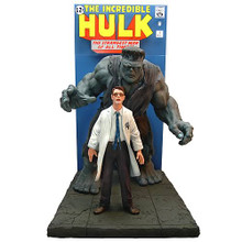 INCREDIBLE HULK COMIC BOOK SCENE REPLICA STATUE - MASTER REPLICAS # 402 - CLEARANCE
