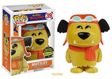 FUNKO POP! ANIMATION HANNA BARBERA: FLOCKED MUTTLEY  GEMINI COLLECTIBLES EXCLUSIVE VINYL FIGURE