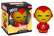 FUNKO DORBZ MARVEL: IRON MAN VINYL FIGURE - CLEARANCE