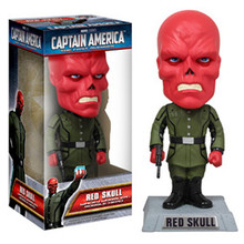 FUNKO RED SKULL MOVIE WACKY WOBBLER BOBBLEHEAD - CLEARANCE