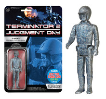 2015 NYCC FUNKO REACTION TERMINATOR 2 FROZEN PATROLMAN ACTION FIGURE - CLEARANCE