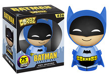 FUNKO DORBZ BATMAN: 75th ANNIVERSARY (BLUE) - CLEARANCE
