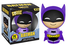 FUNKO DORBZ BATMAN: 75th ANNIVERSARY (PURPLE) - CLEARANCE