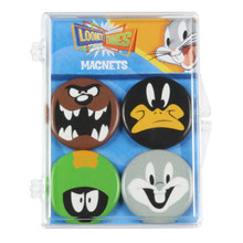 THE COOP LOONEY TUNES 4 PC MAGNET SET