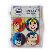 THE COOP DC COMICS HEROES 4 PC MAGNET SET