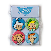THE COOP HANNA BARBERA JETSONS 4 PC MAGNET SET