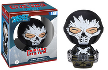 FUNKO DORBZ CAPTAIN AMERICA 3 CIVIL WAR: CROSSBONES VINYL FIGURE