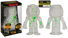 FUNKO CLEAR PREDATOR w/ GREEN BLOOD SPLATTER HIKARI VINYL FIGURE LE 500 EXCLUSIVE - CLEARANCE