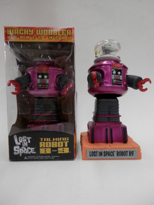 FUNKO B-9 LOST IN SPACE METALLIC MAGENTA WACKY WOBBLER GEMINI EXCLUSIVE - NO STICKER ON WINDOW - DOES NOT TALK - CLEARANCE