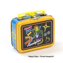 THE COOP RETRO TV TEENY TINS HAPPY DAYS: FONZIE AAAAYHH!