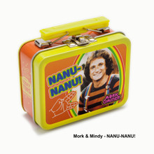 THE COOP RETRO TV TEENY TINS MORK & MINDY: NANU-NANU!