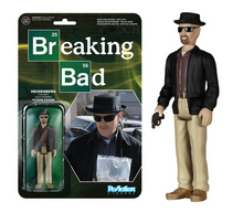 FUNKO REACTION BREAKING BAD: HEISENBERG ACTION FIGURE - WB