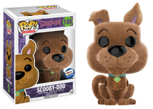 FUNKO POP! ANIMATION HANNA BARBERA:  FLOCKED SCOOBY DOO GEMINI COLLECTIBLES EXCLUSIVE VINYL FIGURE