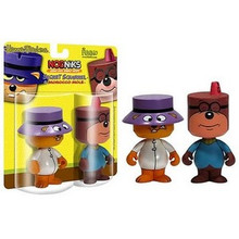 FUNKO NODNIKS SECRET SQUIRREL & MOROCCO MOLE 2 PC SET