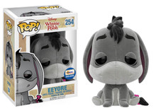 FUNKO POP! DISNEY WINNIE THE POOH: FLOCKED EEYORE  GEMINI COLLECTIBLES EXCLUSIVE VINYL FIGURE
