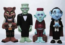 FUNKO MAD MONSTER PARTY 4 PC VINYL FIGURE SET SERIES 1 - CLEARANCE