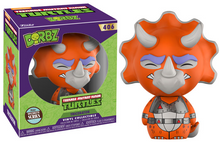 FUNKO DORBZ TELEVISION TEENAGE MUTANT NINJA TURTLES: TRICERATON VINYL FIGURE - SPECIALTY SERIES - CLEARANCE