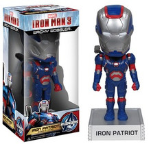 FUNKO IRON MAN 3: IRON PATRIOT WACKY WOBBLER BOBBLEHEAD - CLEARANCE