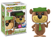 FUNKO POP! ANIMATION HANNA BARBERA: FLOCKED YOGI BEAR GEMINI COLLECTIBLES EXCLUSIVE VINYL FIGURE