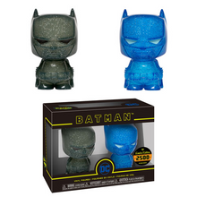 FUNKO HIKARI SOFUBI DC HEROES: BLUE & GRAY BATMAN XS VINYL FIGURE 2 PACK LE 2500 - ITEM #28217 - PRE-ORDER