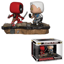 FUNKO POP! MARVEL COMIC MOMENT: DEADPOOL vs CABLE VINYL FIGURE