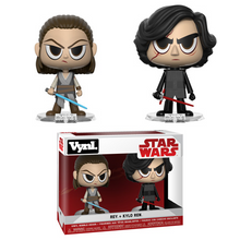 FUNKO VYNL STAR WARS - THE FORCE AWAKENS: REY & KYLO REN VINYL FIGURE 2 PACK - PRE-ORDER