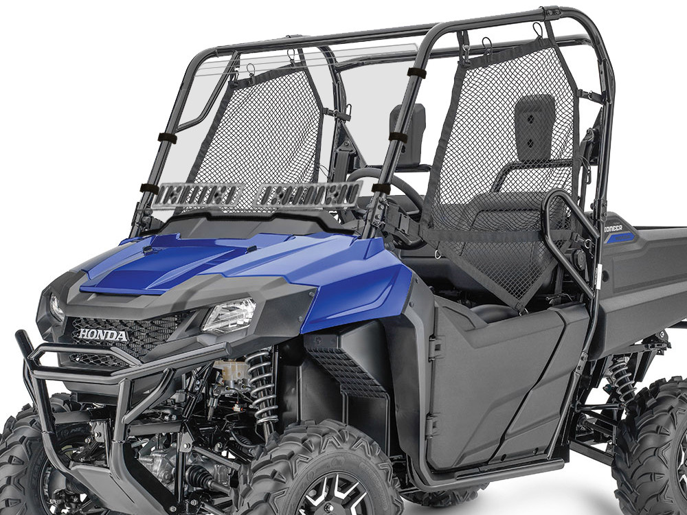 Honda Pioneer 700 Dual Venting Windshield Scratch-Resistant w/Hard Coat 14-16